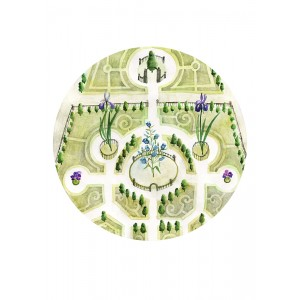 Keszeg Ágnes - Grădini de castele #4 - print A4