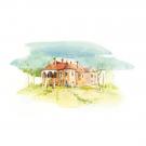 Carte poștală Csillag István - Castelul Kálnoky din Miicloșoara