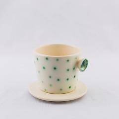 Cană de cafea și farfurioară CONDENS