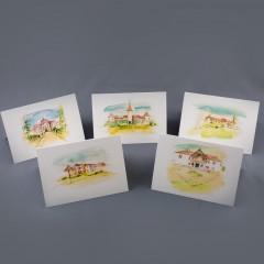 Set cărți poștale Castele în Transilvania