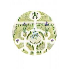 Keszeg Ágnes - Grădini de castele #4 - print A5
